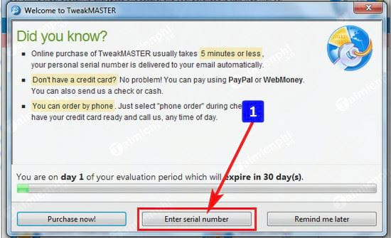 giveaway license tweakmaster free toc by downloading from the internet from 26 4 2