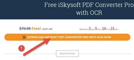 giveaway iskysoft pdf converter mien phi