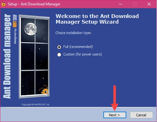 giveaway ant download manager mien phi