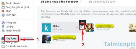 go bo app khong can thiet tren facebook
