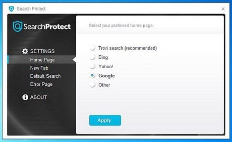 go to search protect your computer