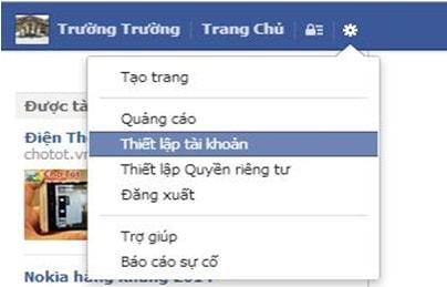 go, loai bo ung dung tren facebook