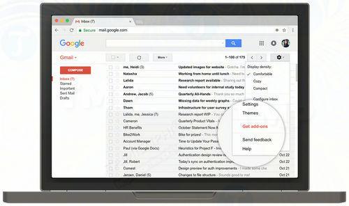 google chinh thuc phat hanh add on gmail cho android va web 2