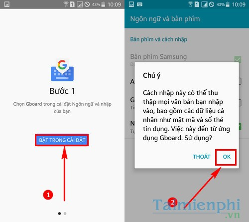 gui anh dong gif voi google keyboard tren android 2