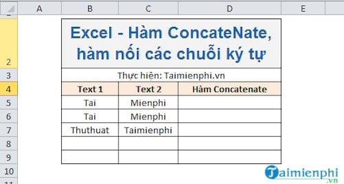 ham concatenate