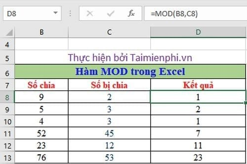 ham lay so le trong excel 2