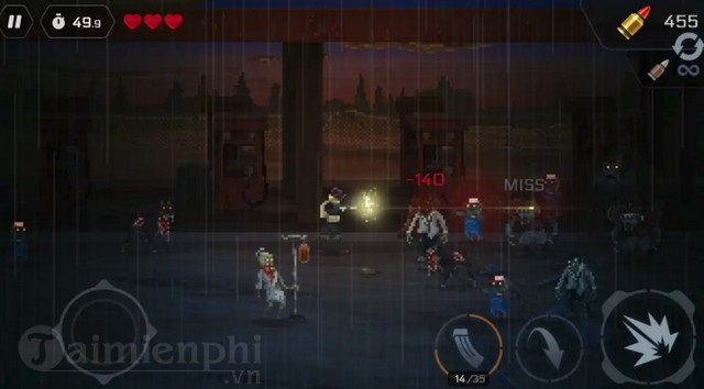 headshot zd survivors vs zombie doomsday game ban zombie cuc hay ra da ra mat game thu 2