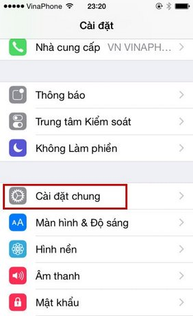 hien thi % pin iphone