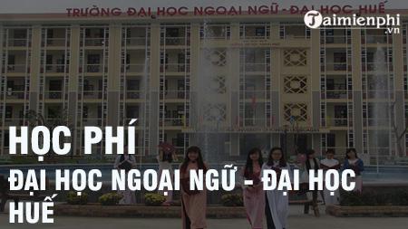 hoc phi dai hoc ngoai ngu hue