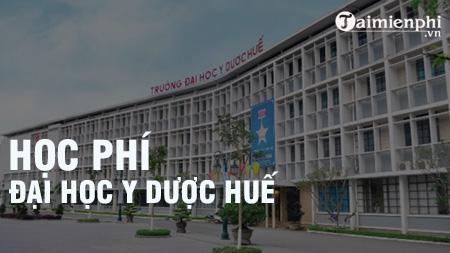 hoc phi dai hoc y duoc hue