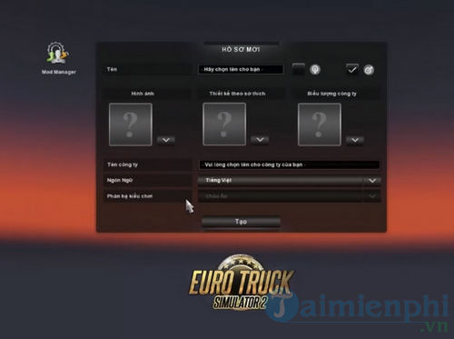 huong dan choi euro truck simulator 2 bang keyboard