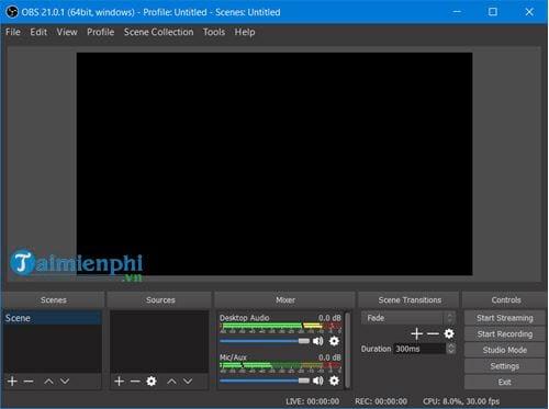 obs studio live stream