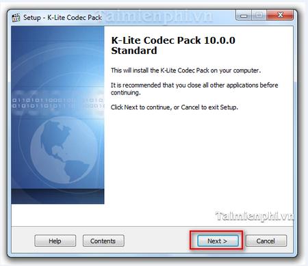 Directional K lite Codec Pack