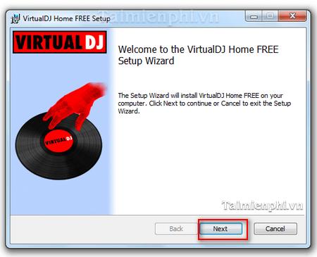 huong dan cai dat Virtual DJ Pro