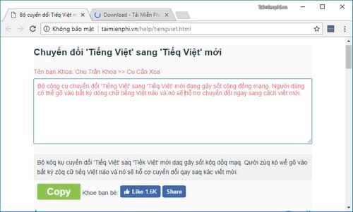 huong dan chuyen doi chu quoc ngu tieng viet thanh tieq viet kieu moi 2
