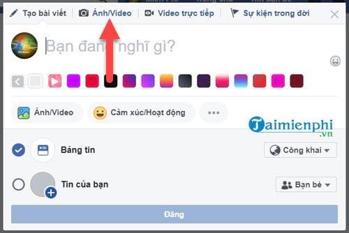 huong dan lam trong trang mat anh dai dien va anh bia tren facebook 2