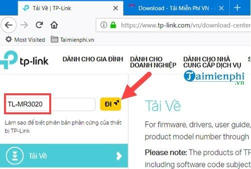 Nâng cấp firmware cho Router TP Link, update firmware tp link