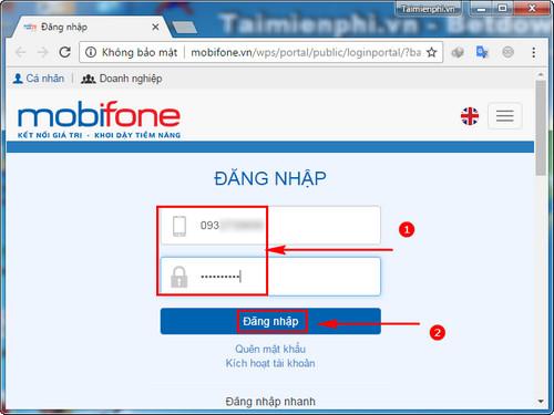 huong dan nap tien cho thue bao khac viettel vinaphone mobifone 2