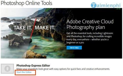 huong dan su dung photoshop express editor chinh sua anh online 2