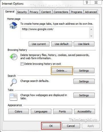 Internet Explorer - Khắc phục lỗi chỉ lưu ảnh ở định dạng BMP