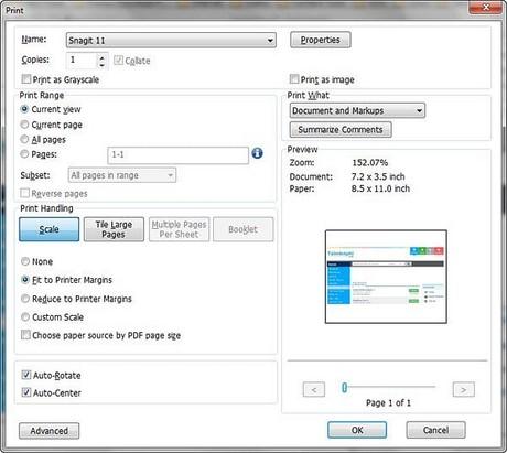 Hướng dẫn in tài liệu file PDF 2