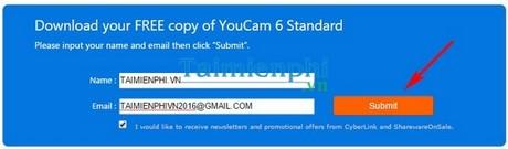 giveaway cyberlink youcam