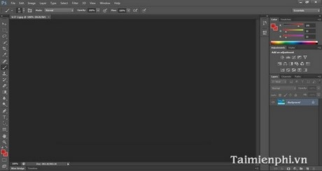 Khắc phục lỗi bảng điều khiển biến mất trong Photoshop
