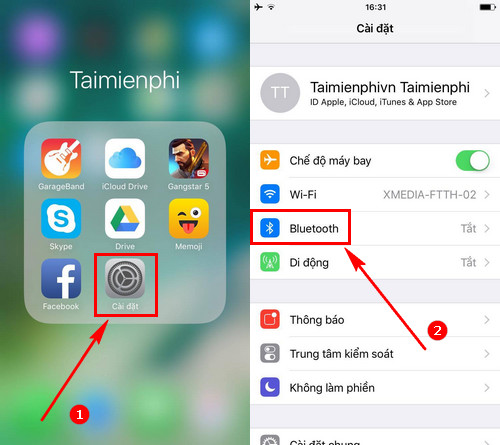 khac phuc loi bluetooth tren iphone 7 7plus bluetooth khong hoat dong 2