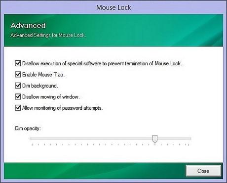 khoa man hinh may tinh mouse lock