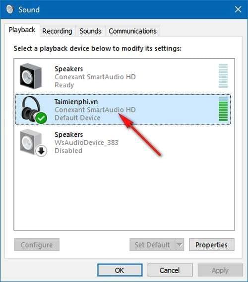 Kích hoạt chế độ âm thanh Spatial Sound trên Windows 10 Creators Update 1