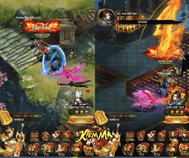 kiem ma h5 game mobile game thu ban ron se thich 2