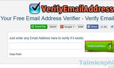 Kiểm tra email có tồn tại không, cách check email còn tồn tại hoặc bị xóa. 1
