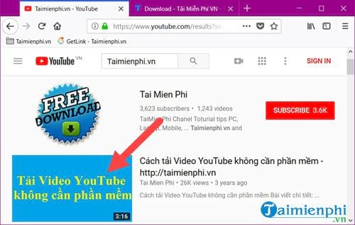 lay link video youtube tren may tinh va dien thoai nhu the nao 2