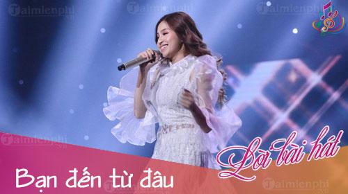 loi bai hat ban den tu dau sing my song 2