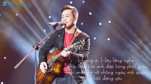 loi bai hat huong a sing my song 2