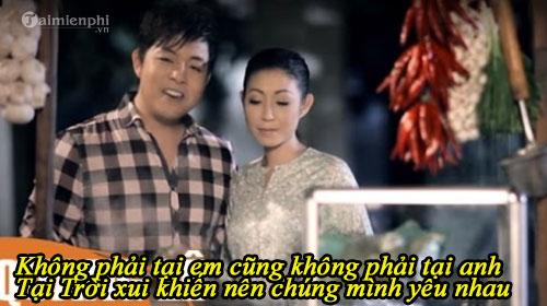 loi bai hat khong phai tai chung minh 2