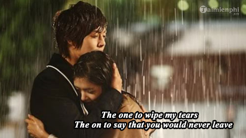loi bai hat kiss the rain 2