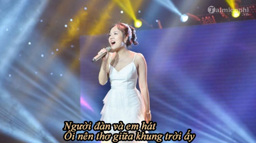 loi bai hat thanh am sing my song 2