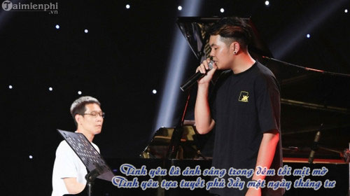 loi bai hat tinh yeu cua anh andiez sing my song 2