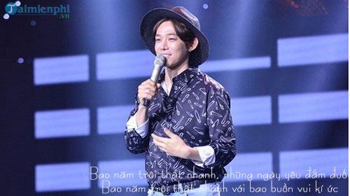 loi bai hat troi sing my song 2