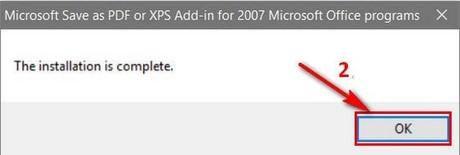Cách lưu file PDF trong Word 2007, 2003 bằng Microsoft Save as PDF