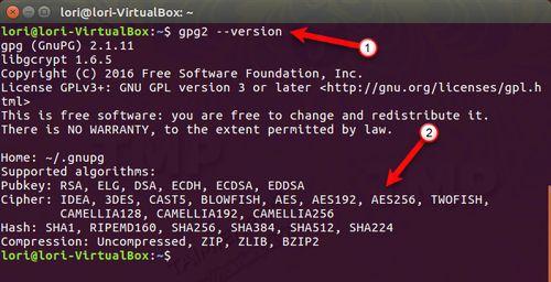 ma hoa file va thu muc tren ubuntu 2