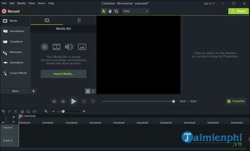 meo ghep 2 video thanh 1 bang camtasia studio 2