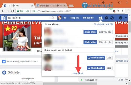meo huy loi moi ket ban tren facebook