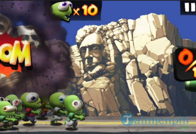meo quyet chinh phuc game zombie tsunami 2