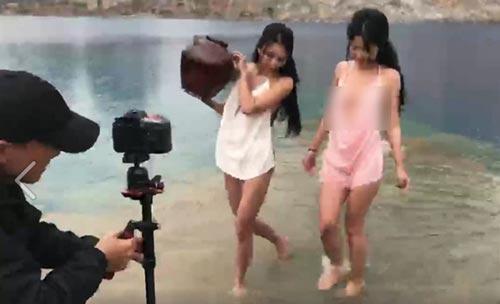 Mẹo tải ảnh gốc full 2 thiếu nữ bên Tuyệt Tình Cốc