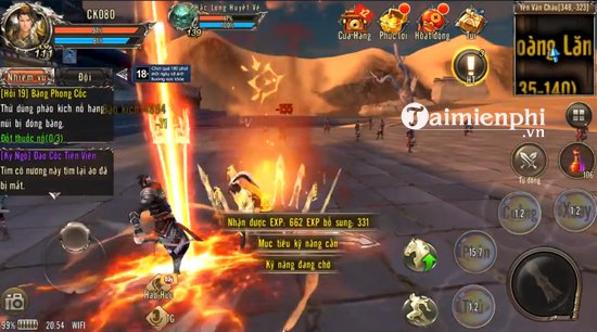 mon phai trong game 360mobi kiem khach 2