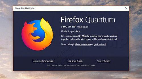 mozilla phat hanh firefox 58 0 2 sua loi windows va macos 2