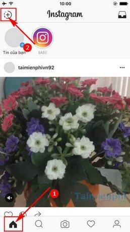 phat video truc tiep tren instagram
