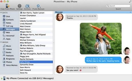 Auto data backup ios, iphone, ipad with mac os x
